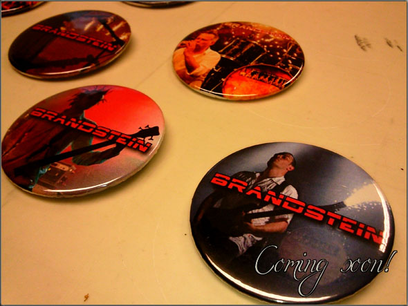 rammstein coverband Brandstein Merchandising-Artikel
