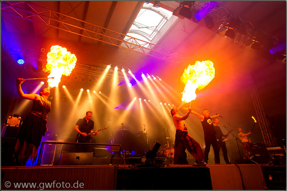 Brandstein - Rammstein-Coverband Konzert in Otterstadt