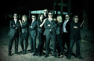 Brandstein - Rammstein-Coverband-Bandfoto