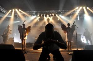 Brandstein - Rammstein-Coverband-Pressefoto-Speyer