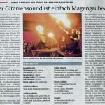 Presse-Artikel der Rammstein-Coverband Brandstein - Leo